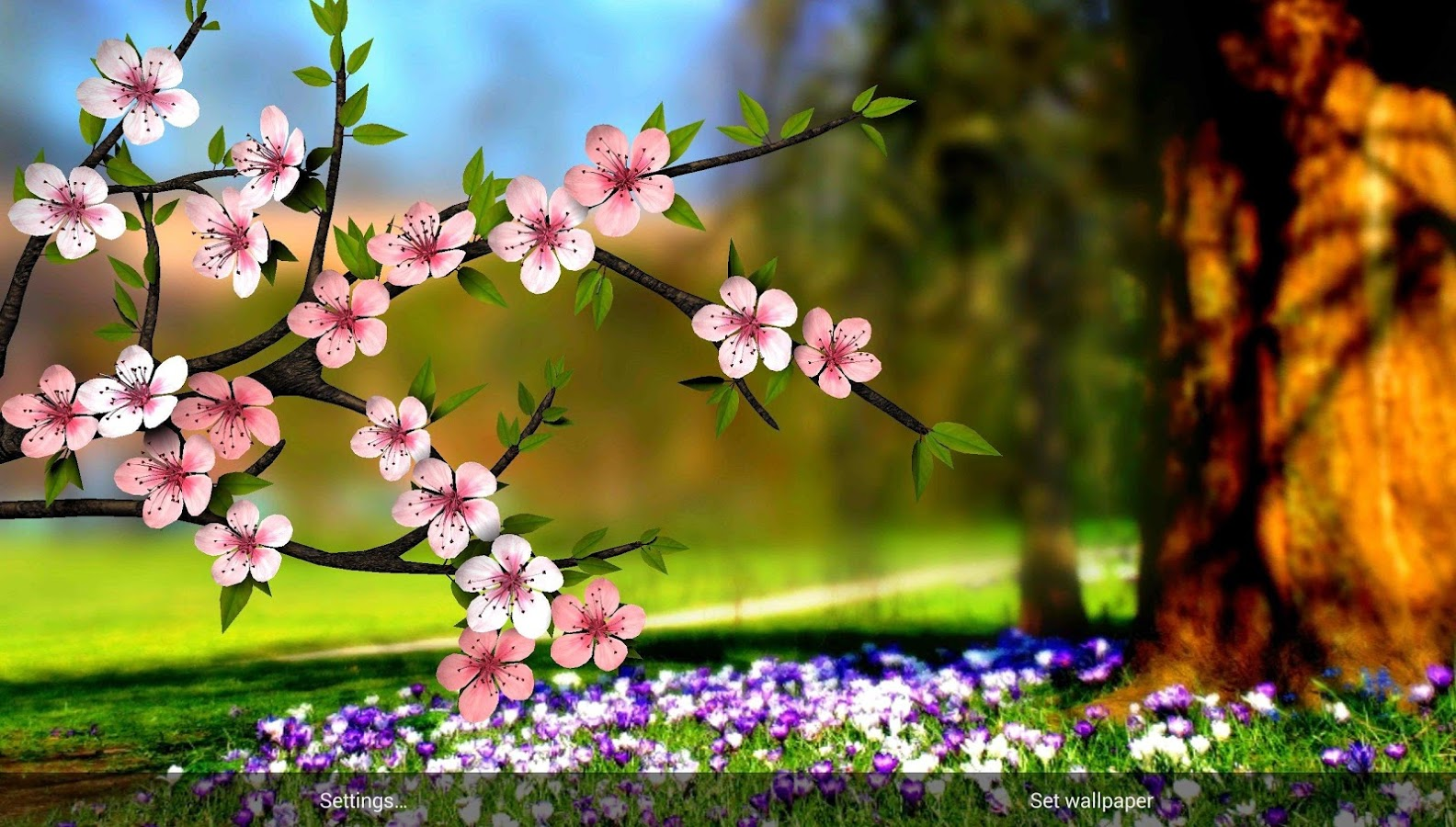 Spring Flowers 3d Parallax Hd App Ranking And Store Data App Annie