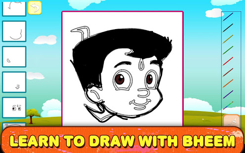 Draw & Color Chhota Bheem App Ranking and Store Data | App Annie