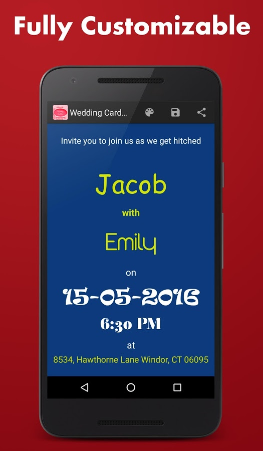 Wedding card maker app ranking and store data app annie app description wedding card maker stopboris Choice Image