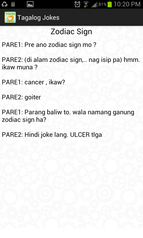 Tagalog Jokes App Ranking And Store Data App Annie