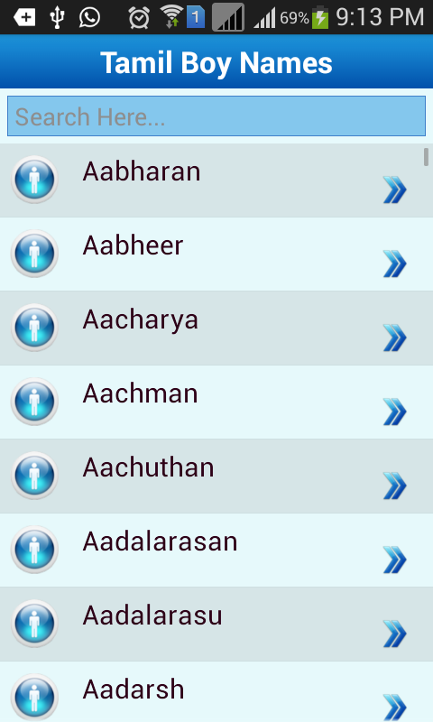 Tamil Baby Names Meaning App Ranking And Store Data App Annie
