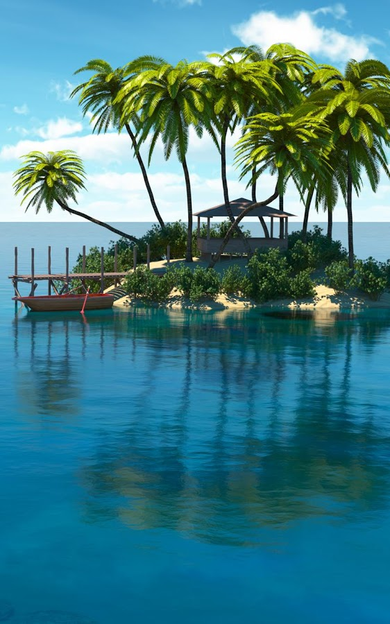 paradise island live wallpaper app ranking and store data app annie. Black Bedroom Furniture Sets. Home Design Ideas