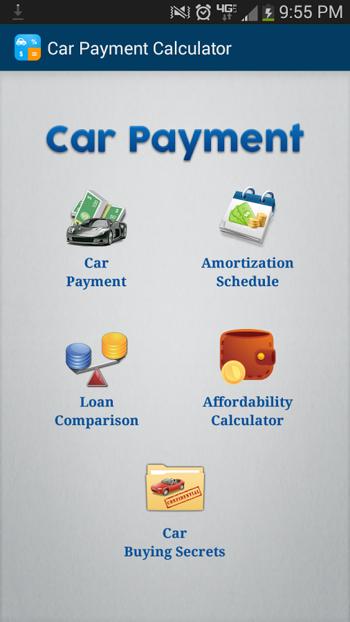 Free Car Payment Calculator App Ranking and Store Data – Auto Payment Calculator
