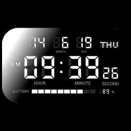 シンプルなデジタル時計 デジタルクロックshg2 アプリランキングとストアデータ App Annie