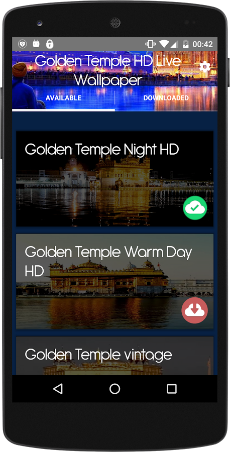 Golden Temple Live Wallpaper App Ranking And Store Data App Annie