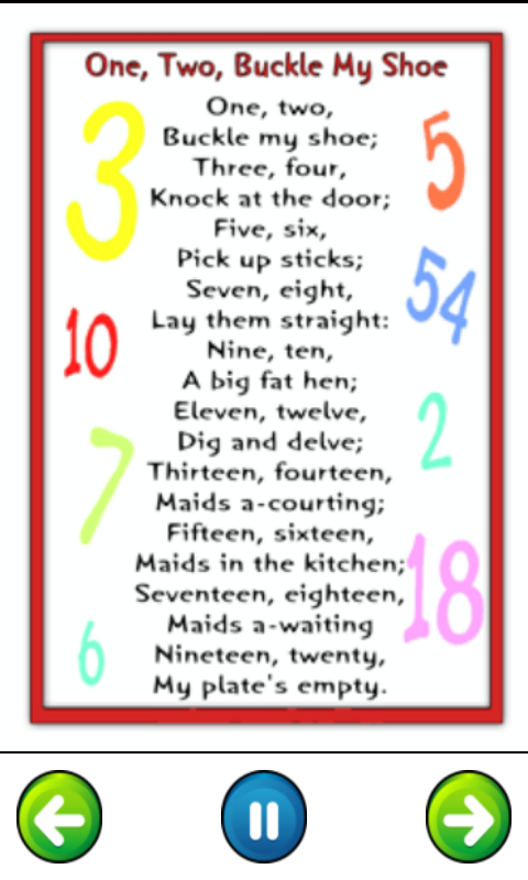 Top 50 Nursery Rhymes For Kids App Ranking and Store Data ...