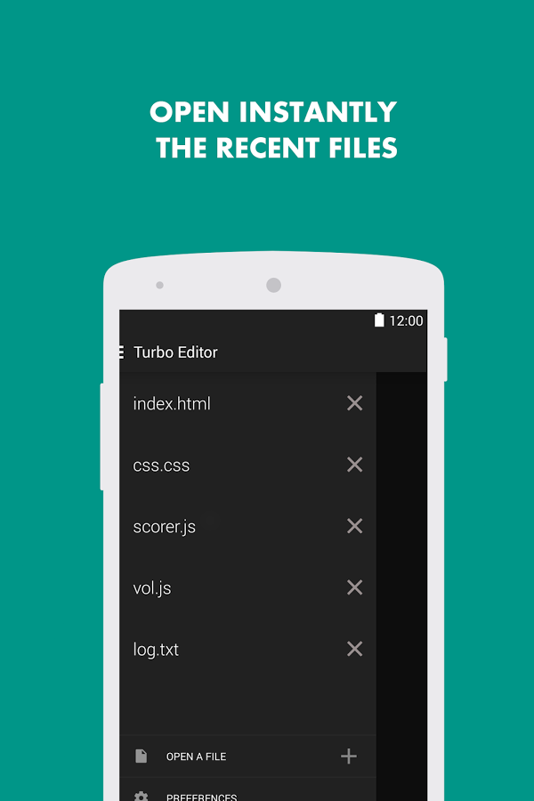 Turbo Editor // Text Editor App Ranking and Store Data | App