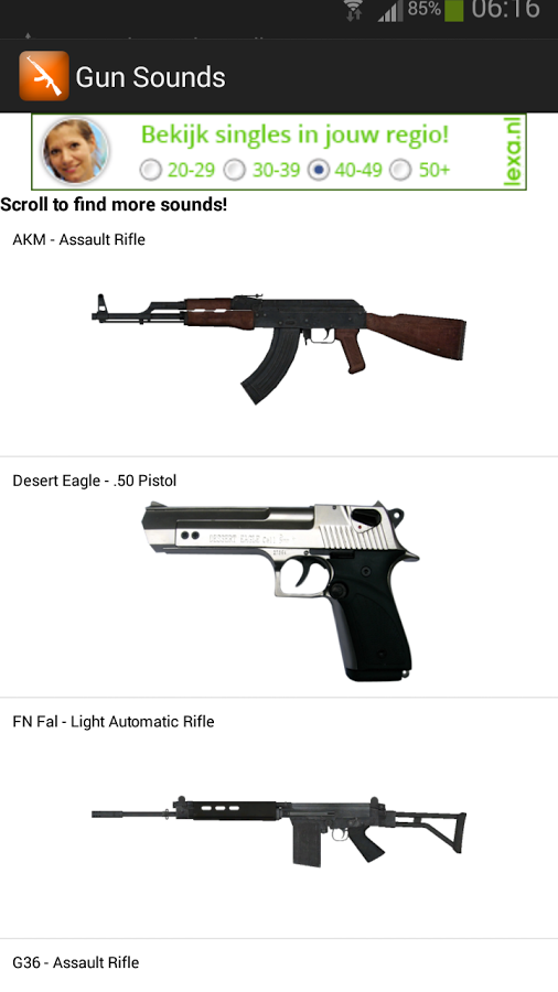 gun sounds app ranking and store data app annie
