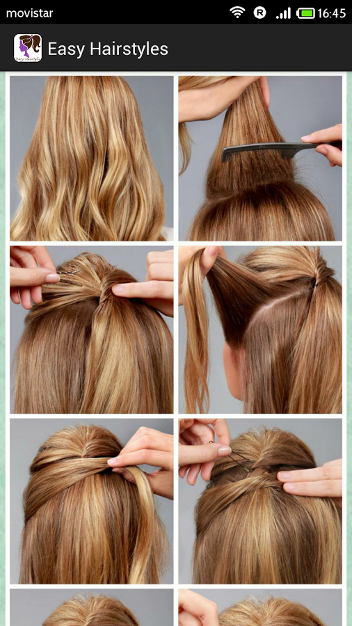 Easy Hairstyles(Step by Step) App Ranking and Store Data