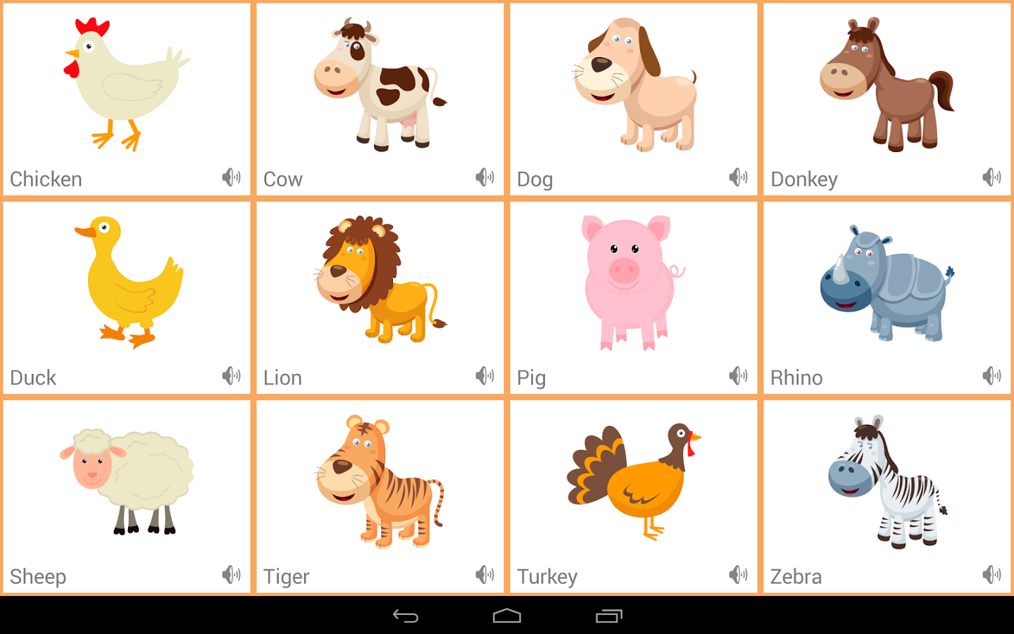 toddlers animals sounds app ranking and store data app annie - Animal Pictures For Toddlers