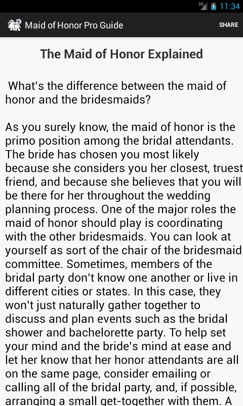 Funny Maid Of Honor Sch Sample Wedding Ideas