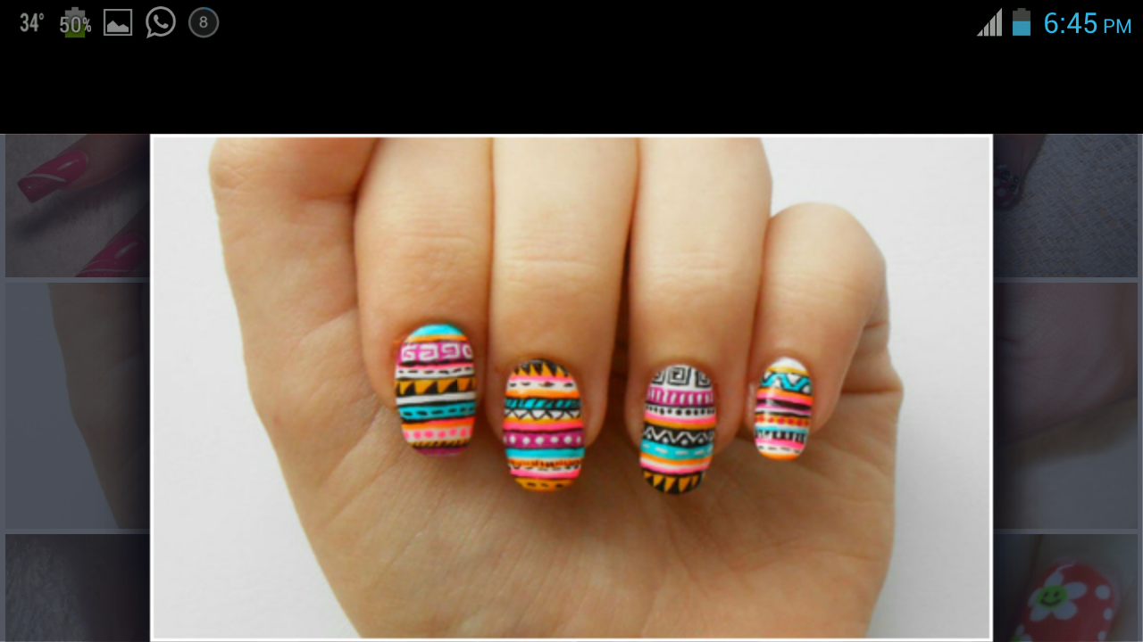 Nail Art App Gallery - nail art design simple step by step