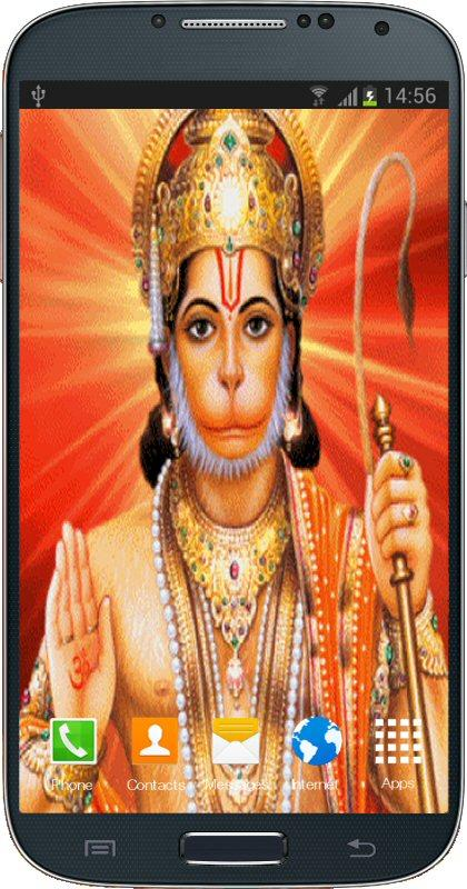 App Description Lord Hanuman Live Wallpaper