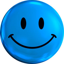 Smiley Blue Face Icon Theme App Ranking And Store Data App Annie