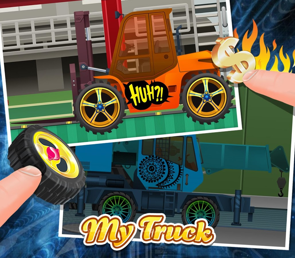 Build my truck design play app ranking and store data for Truck design app