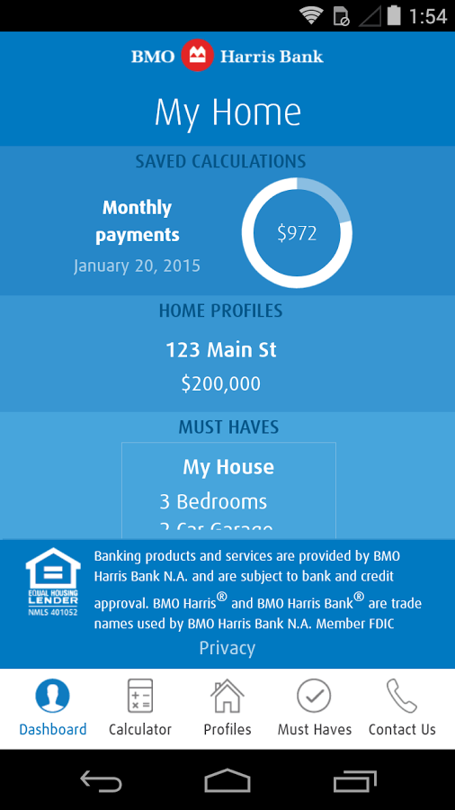 Bmo Harris My Home App Ranking And Store Data App Annie