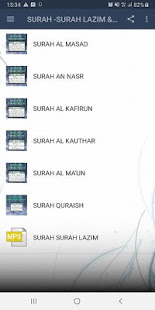 SURAH -SURAH LAZIM & MP3 App Ranking and Store Data | App Annie