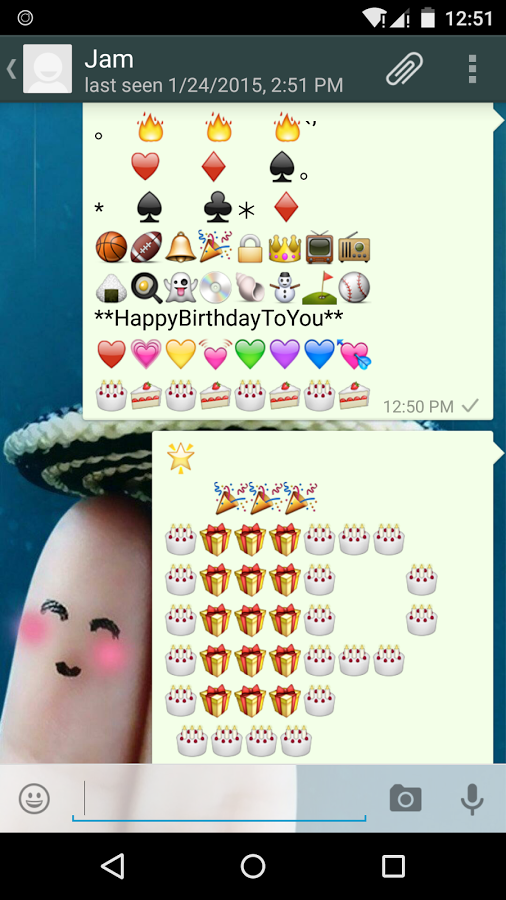 Birthday Art Emoji Keyboard App Ranking And Store Data