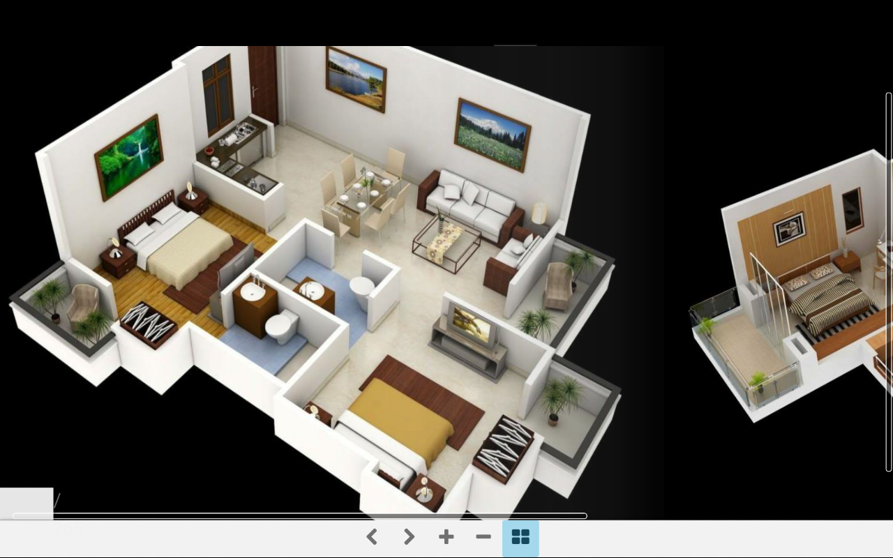 3d home plans classements d 39 appli et donn es de store for Plans en 3d