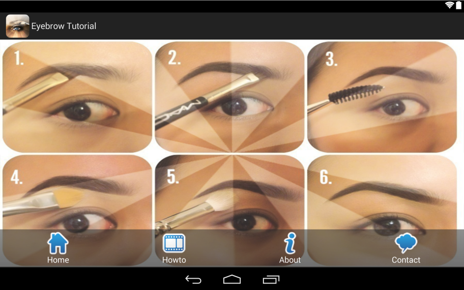 Eyebrow Tutorial App Annie