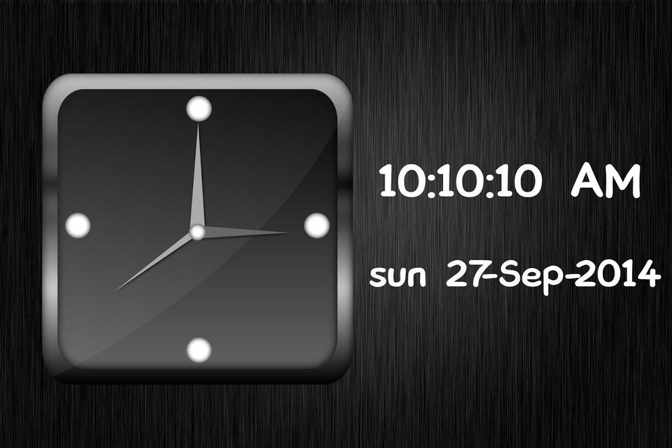 App Description. Analog Clock Live Wallpaper ...