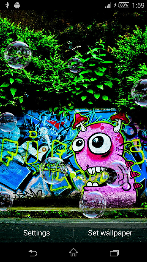 Graffiti Live Wallpaper App Ranking And Store Data App Annie