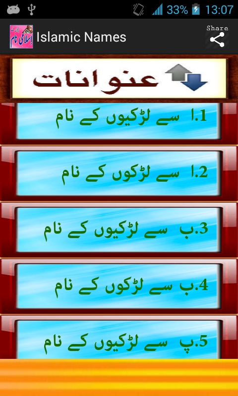 Bachon Ky Islamic Names App Ranking and Store Data | App Annie