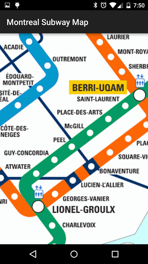 Montrrsl Subway Map.Montreal Subway Map App Ranking And Store Data App Annie