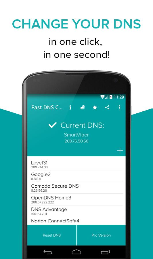 Fast DNS Changer(no root) App Ranking and Store Data | App Annie