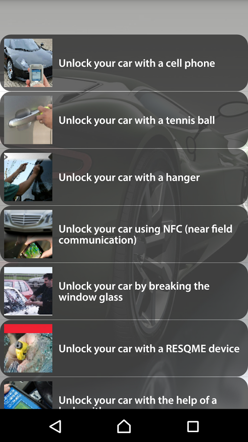 How To Unlock A Car App Ranking And Store Data App Annie
