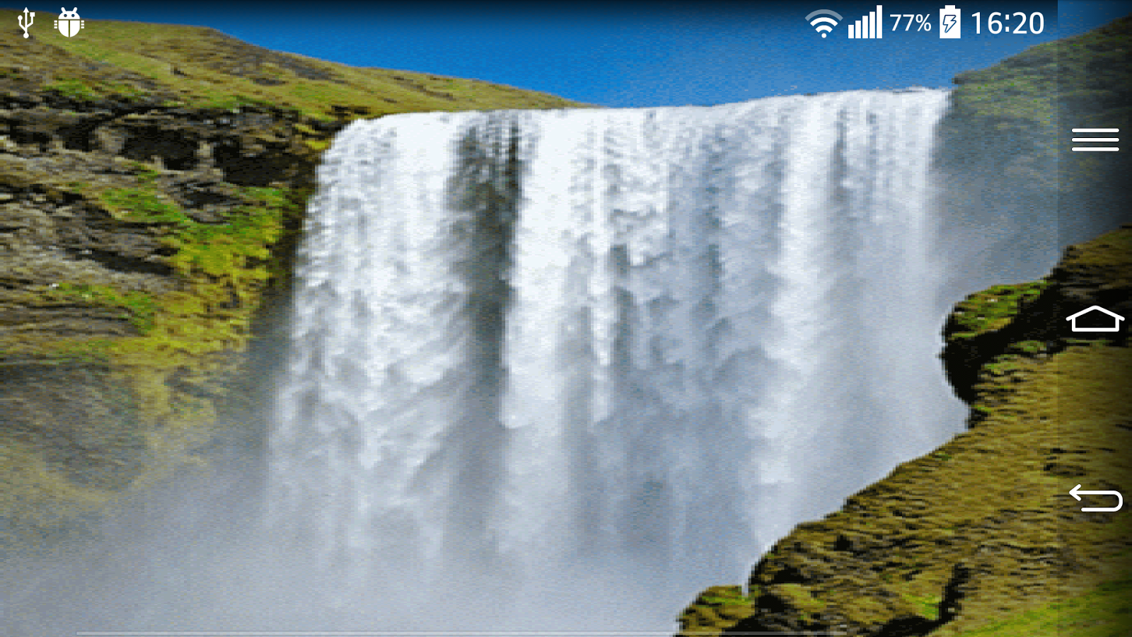 Waterfall Live Wallpaper With App Ranking And Store Data App Annie