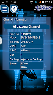 New Frequencies Nilesat 2019 App Ranking and Store Data