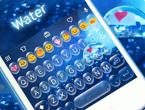 Water Emoji Keyboard Theme App Ranking and Store Data | App Annie
