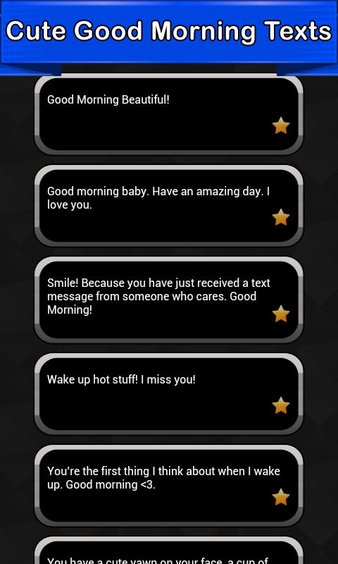 Cute Good Morning Texts App Ranking and Store Data | App Annie