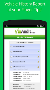 Free VIN Check Report & History for Used Cars Tool App