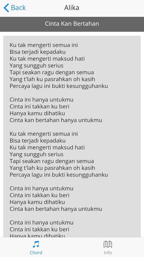 Lirik lagu alika app ranking and store data app annie app description kumpulan lirik lagu alika stopboris Images