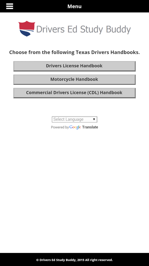tx commercial drivers license handbook