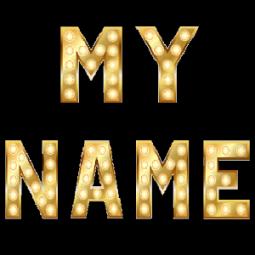 A name wallpaper