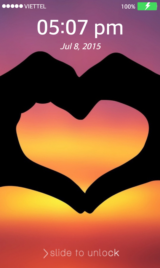 App Description Collection Of Heart HD Wallpapers