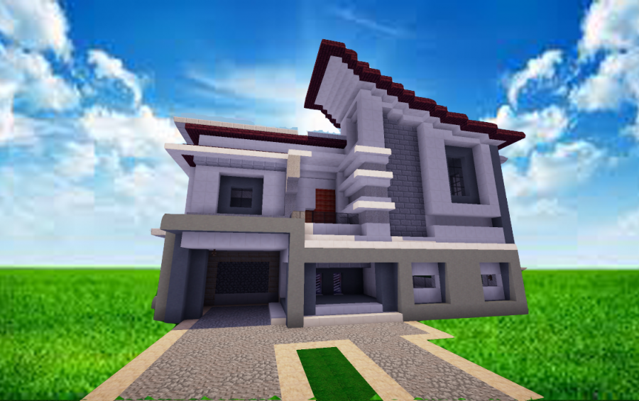 Modern house ideas mcpe mods app ranking und store daten for Easy house design app