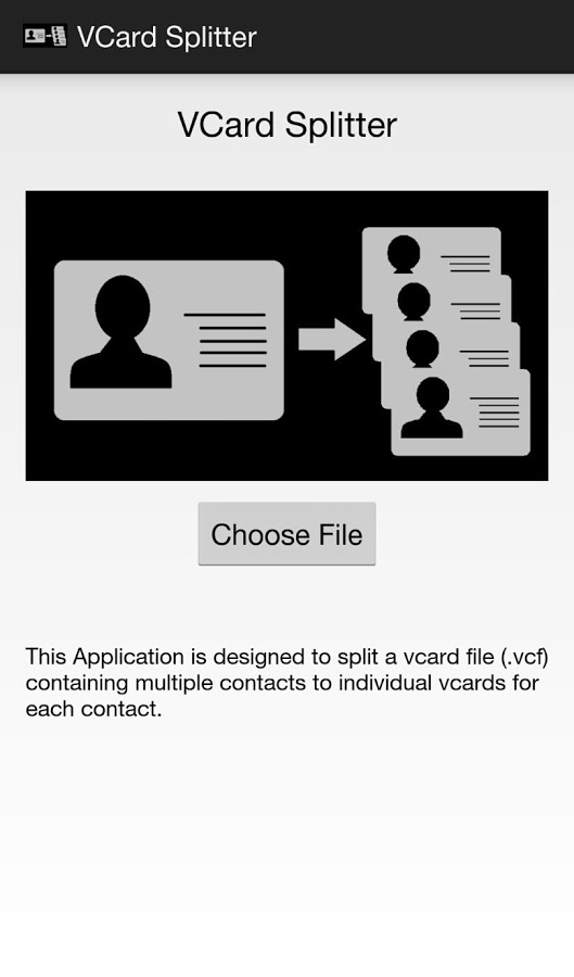Vcard vcf Splitter App Ranking and Store Data | App Annie