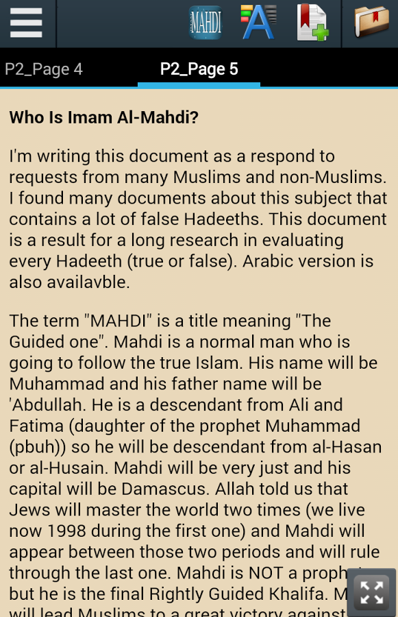 Signs of Imam Mahdi Arrival App Ranking and Store Data | App