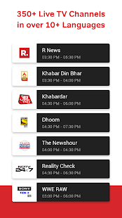 Airtel TV: Live TV, News, Movies, TV Shows App Ranking and Store