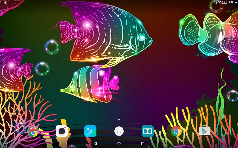 Neon Fish Live Wallpaper App Ranking And Store Data App