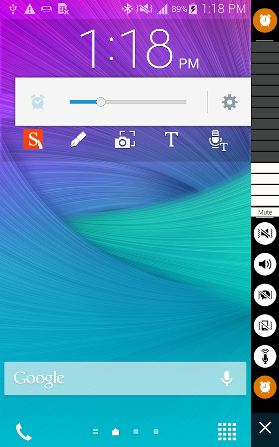 Volume Control for Note Edge App Ranking and Store Data