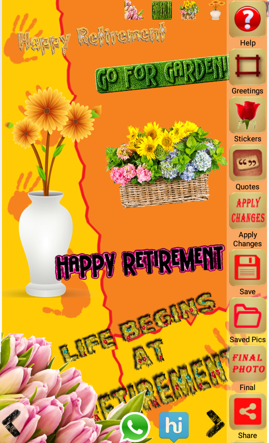 Retirement greeting cards app ranking and store data app annie m4hsunfo Image collections