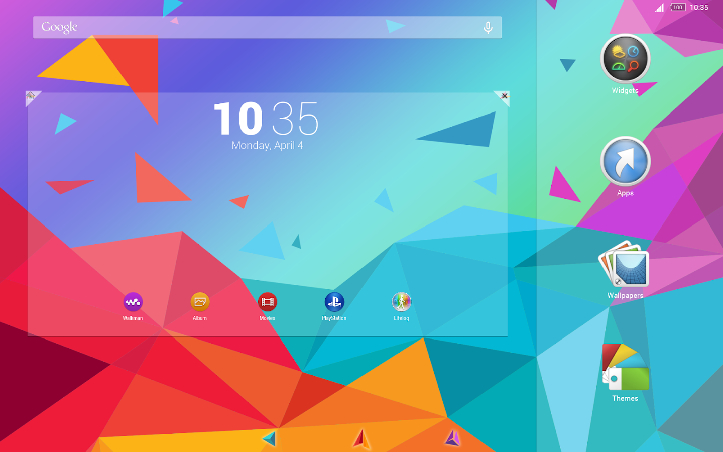 Geometric Colorful for Xperia™ App Ranking and Store Data | App Annie