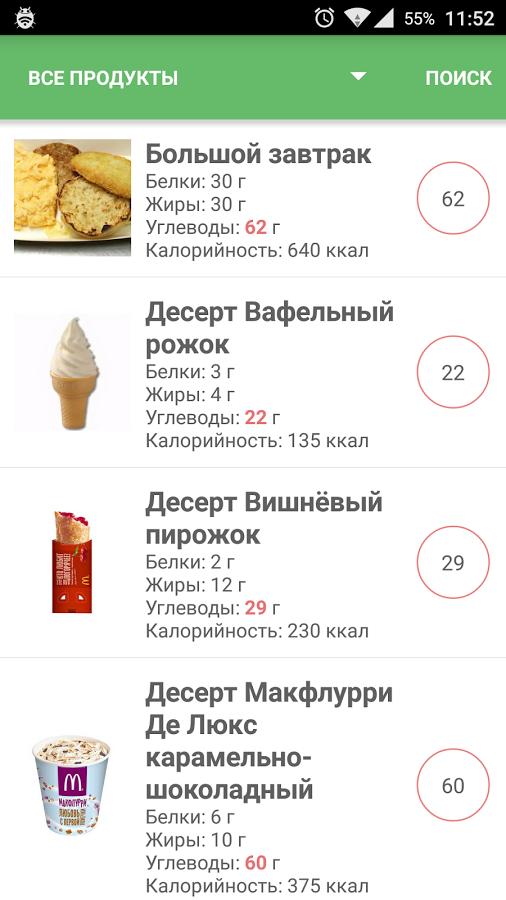 кремлевская диета приложение для айфона