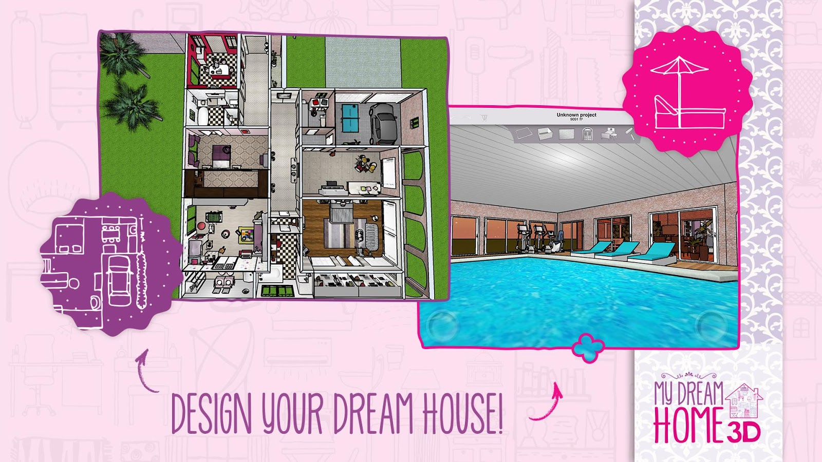 Awesome Design Your Dream Home App Pictures - Decorating Design ...
