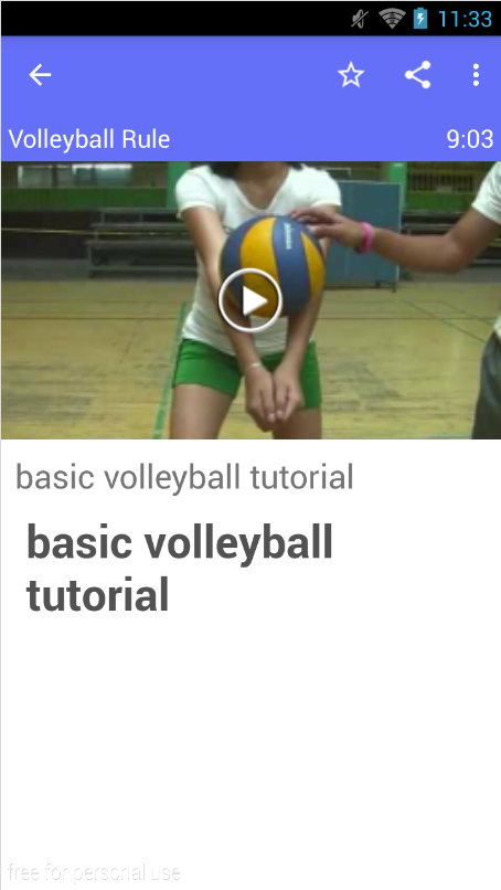 volleyball rules Indoor volleyball rules nfhs rules govern play with the following modifications the game players may play on one team in each league a team competes with 6 players, however, minimum number of players is 3.